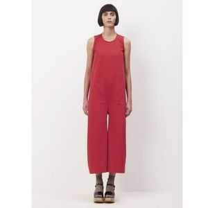 Ilana Kohn red jumpsuit, Sz Medium NWOT